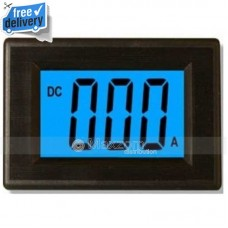 3 1/2 LCD Blue Digital Current Panel Meter DC 20MA AMP