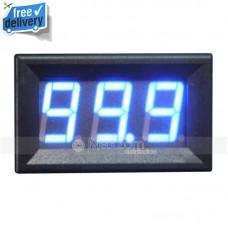Mini BLUE LED DC Vol Voltage Meter Volmeter 5-100V New