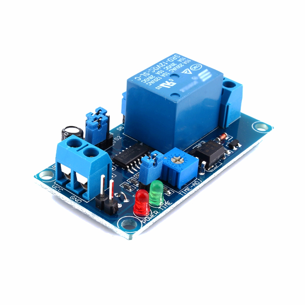 Power On Delay Circuit 555 Excellent Electrical Wiring Diagram House 10 Second Timer By Transistor Eleccircuitcom 12v Relay Switch Module Better Than Ne555 Chip Ebay Using